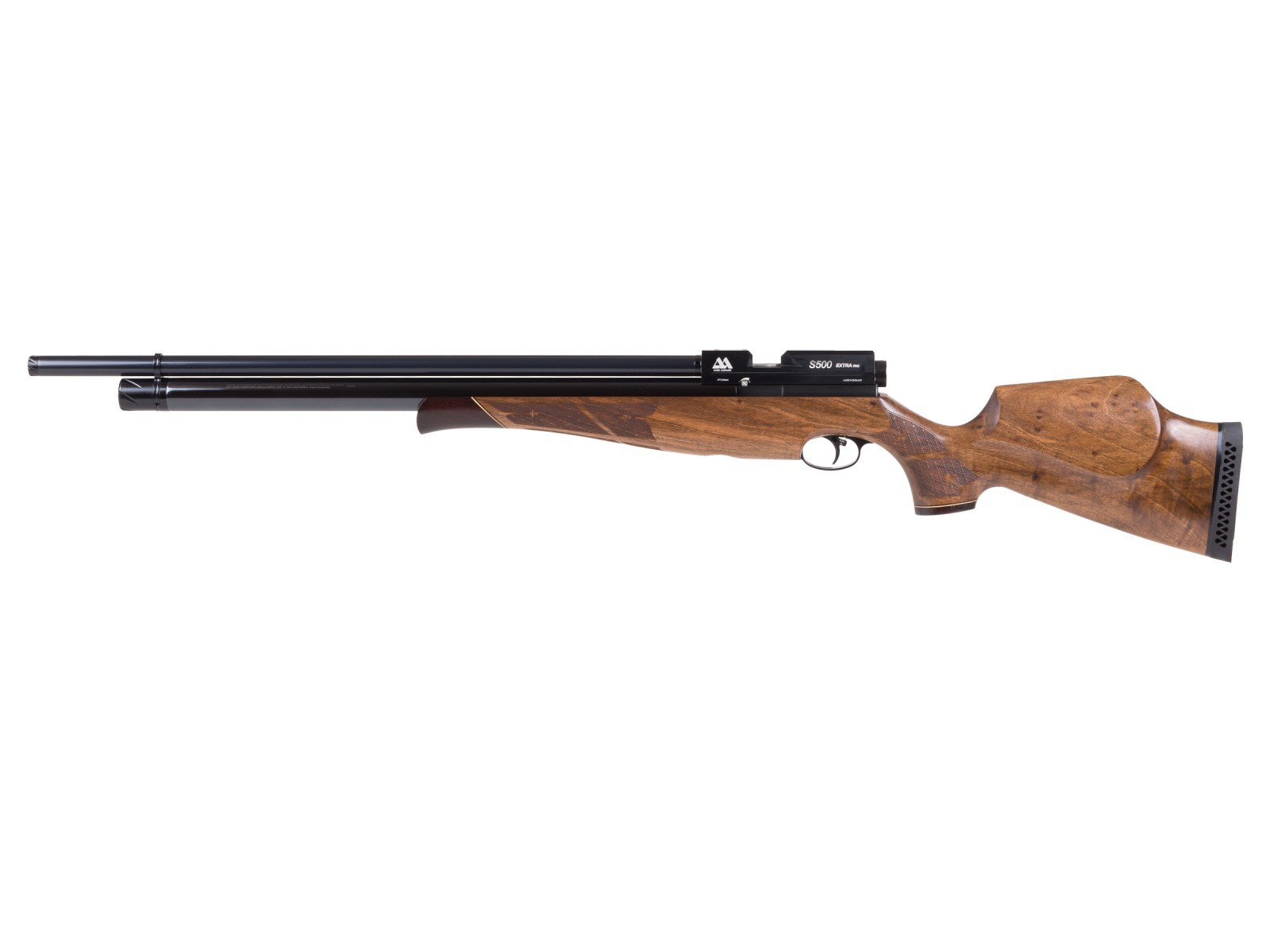 Air Arms S500 Xtra FAC Walnut PCP Air Rifle 0.22