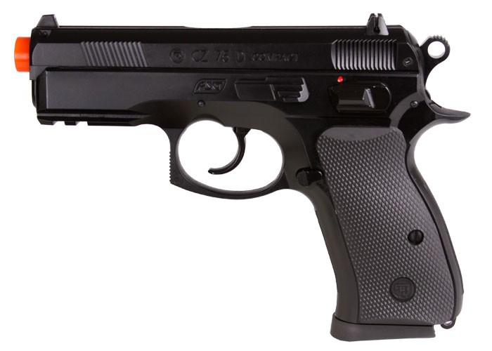 ASG CZ 75D Compact Spring Airsoft Pistol 6mm