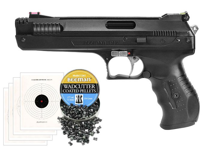 Beeman Sweet 17 Bundle (Beeman P17 Air Pistol) 0.177