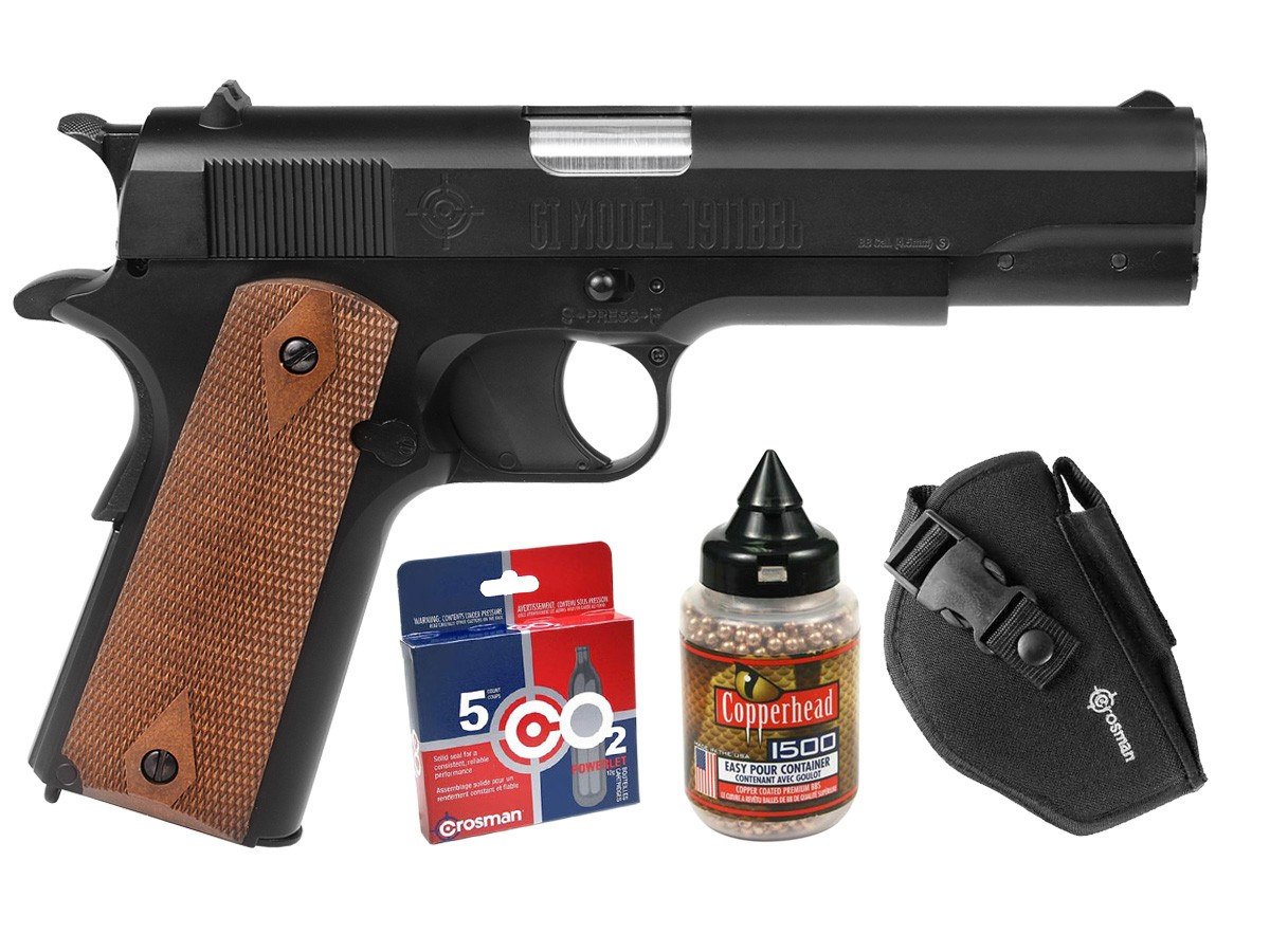 Crosman GI Model 1911 CO2 Blowback BB Pistol Kit 0.177