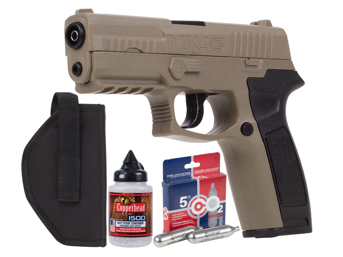 Crosman MK45 CO2 BB Pistol Kit 0.177