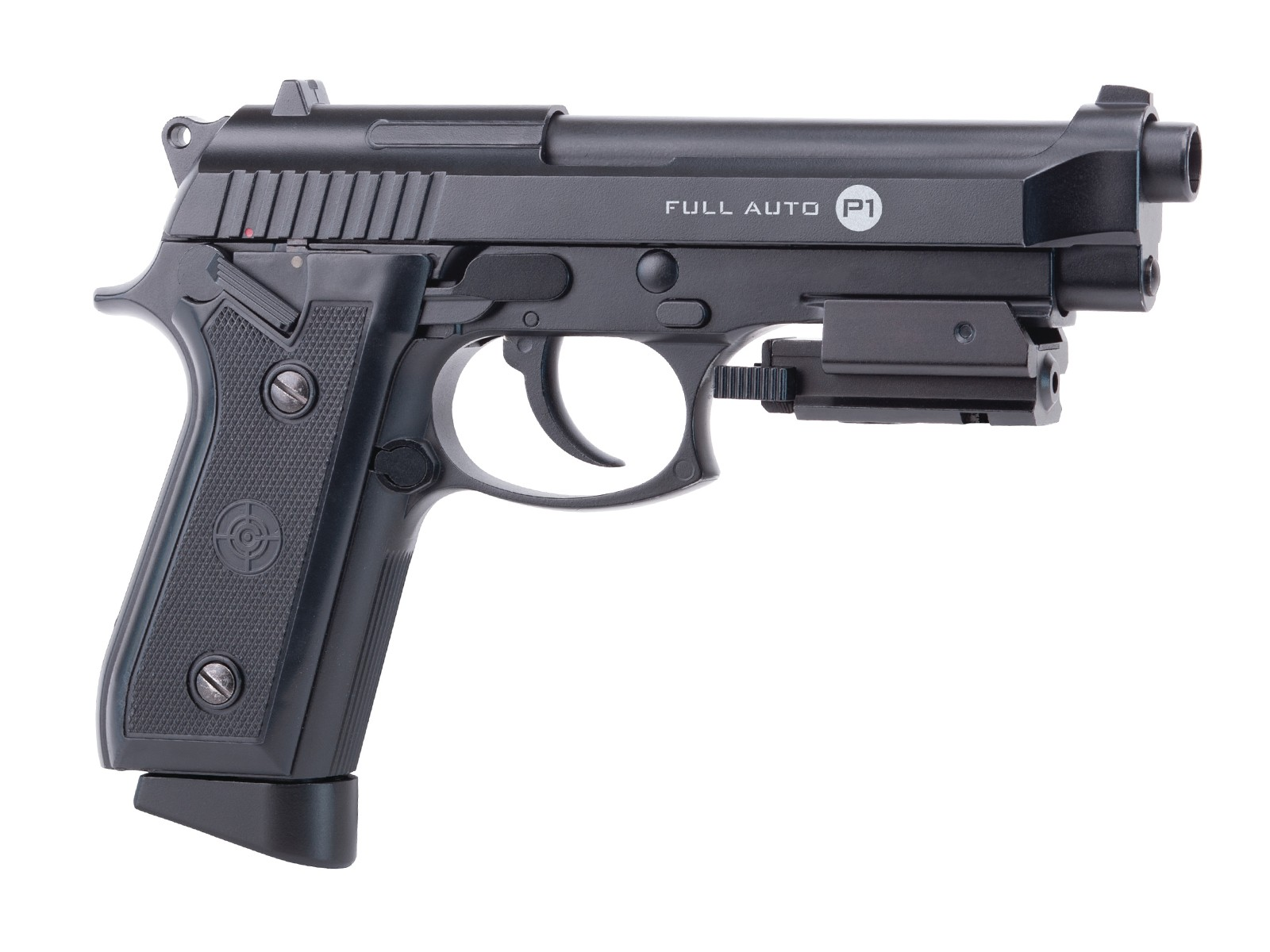 Crosman P1 Full Auto Blowback CO2 BB Pistol with Laser 0.177