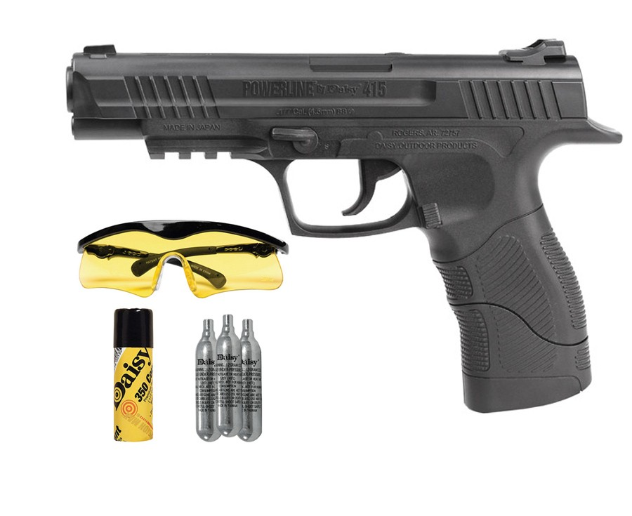 Daisy Powerline 415 CO2 Pistol kit 0.177