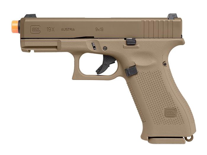 Glock 19X Gas Blowback Airsoft Pistol