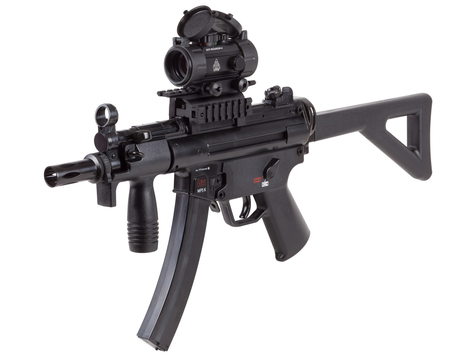 H&K MP5 K-PDW CO2 BB SMG Combo 0.177