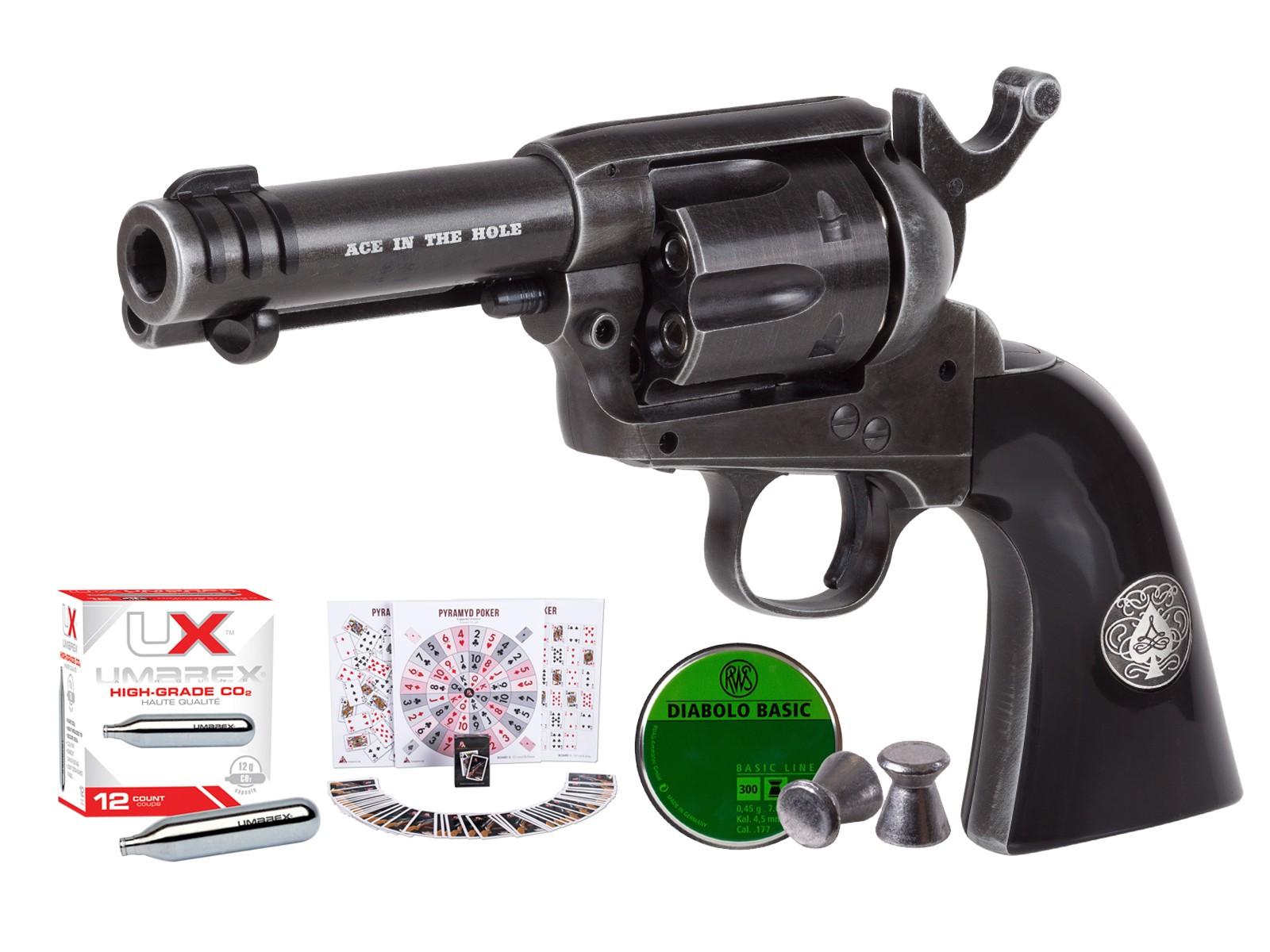 Legends Ace-In-The-Hole CO2 Pellet Revolver