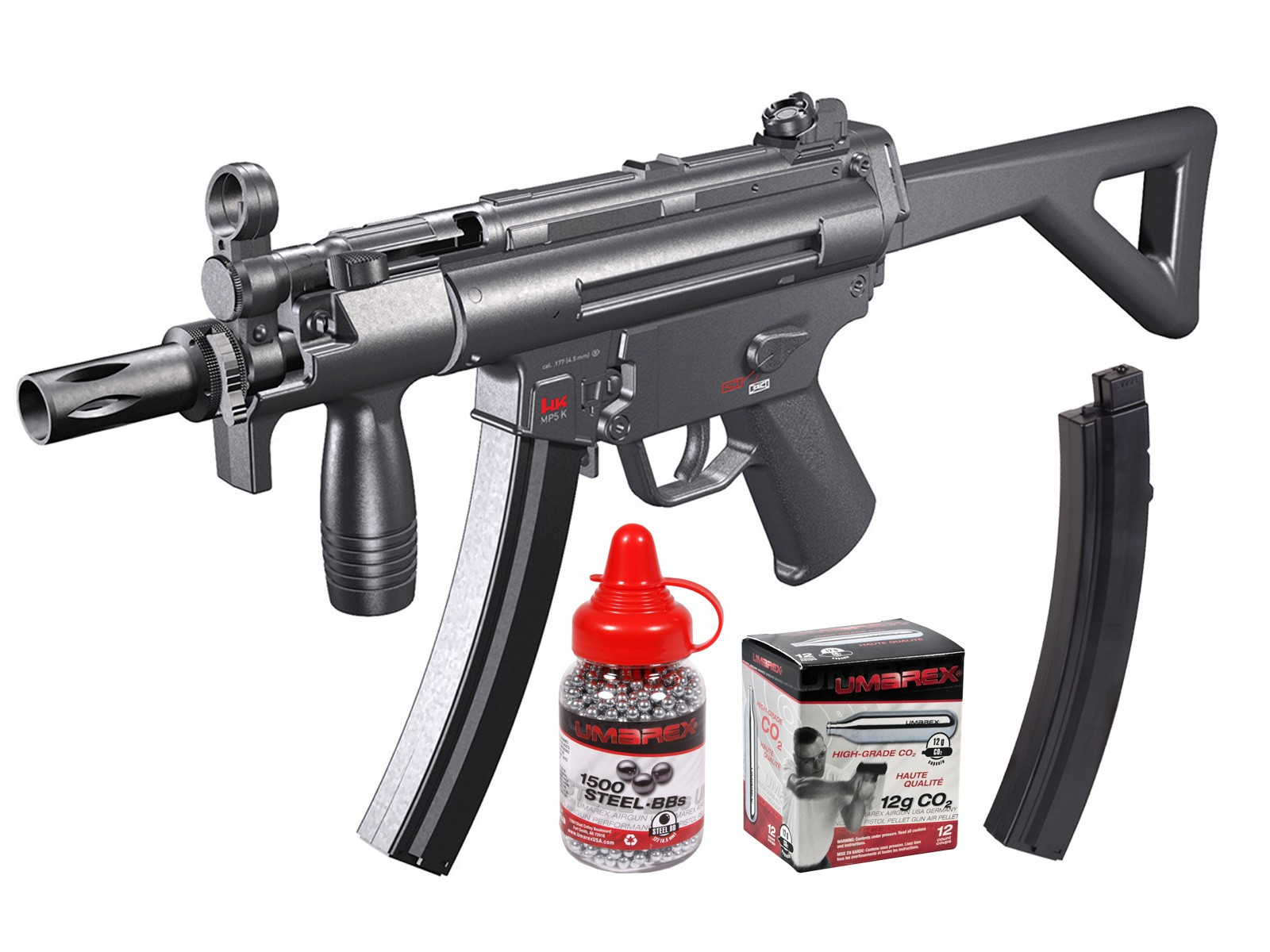 MP5 Silver Storm (H&K MP5-PDW) 0.177