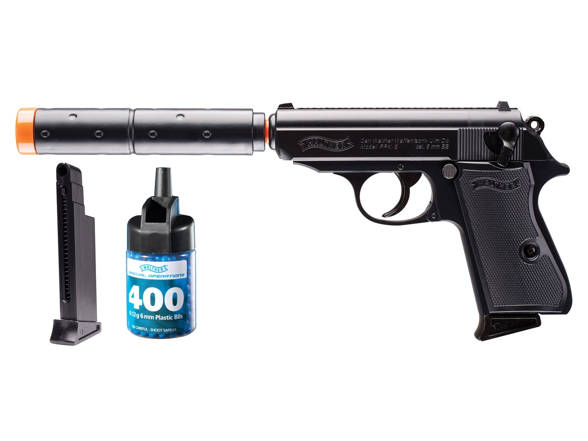 Walther PPK/S Operative Airsoft Pistol Kit