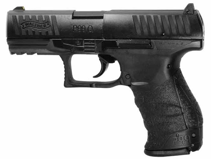 Walther PPQ / P99 Q CO2 pistol 0.177