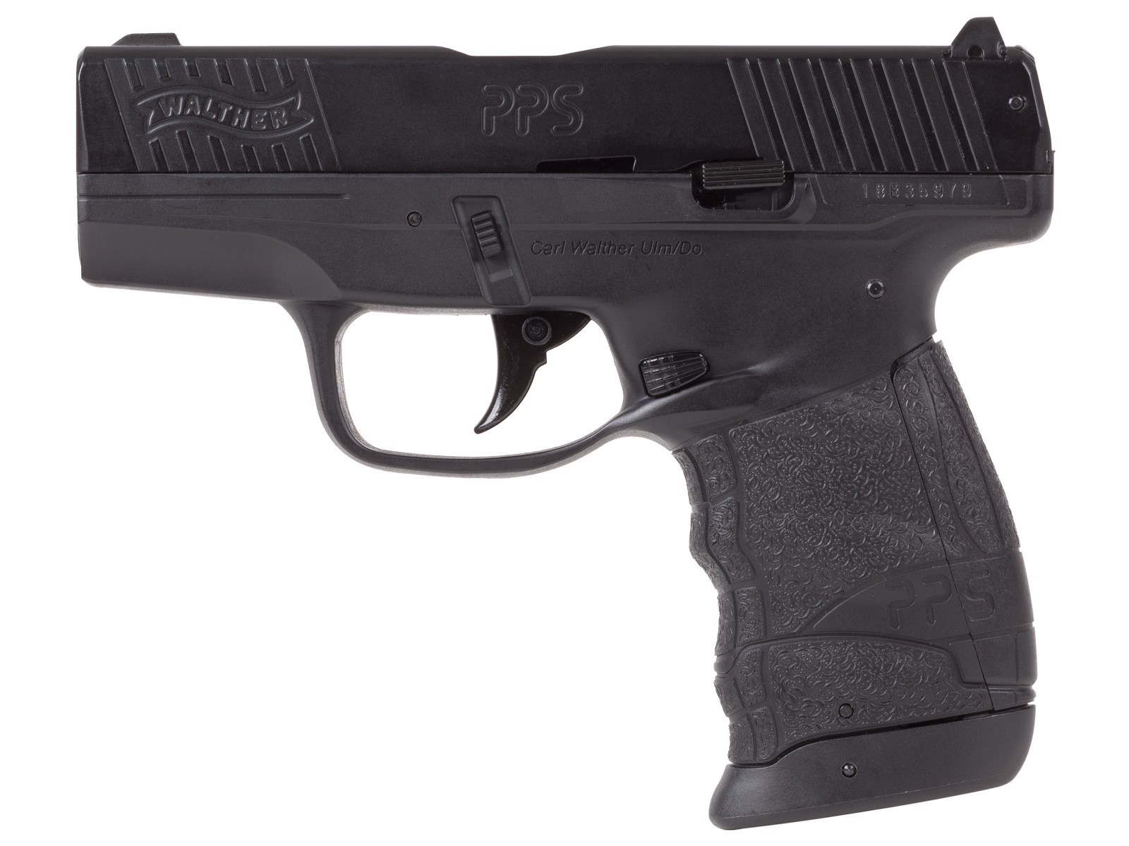 Walther PPS M2 Blowback Compact CO2 BB Air Pistol 0.177