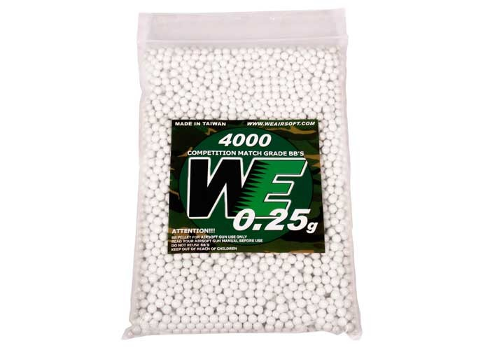 WE Competition Series 6mm Airsoft BBs